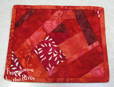 Mug rug for project 2