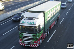 Scania R440 6x2 Tractor - PK11 WPY - Leonie Tamsin - Green & Red - Eddie Stobart - M1 J10 Luton - Steven Gray - IMG_0433