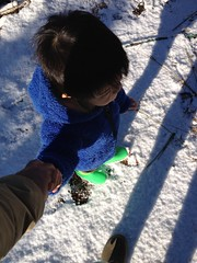 雪見散歩 2013/1/28