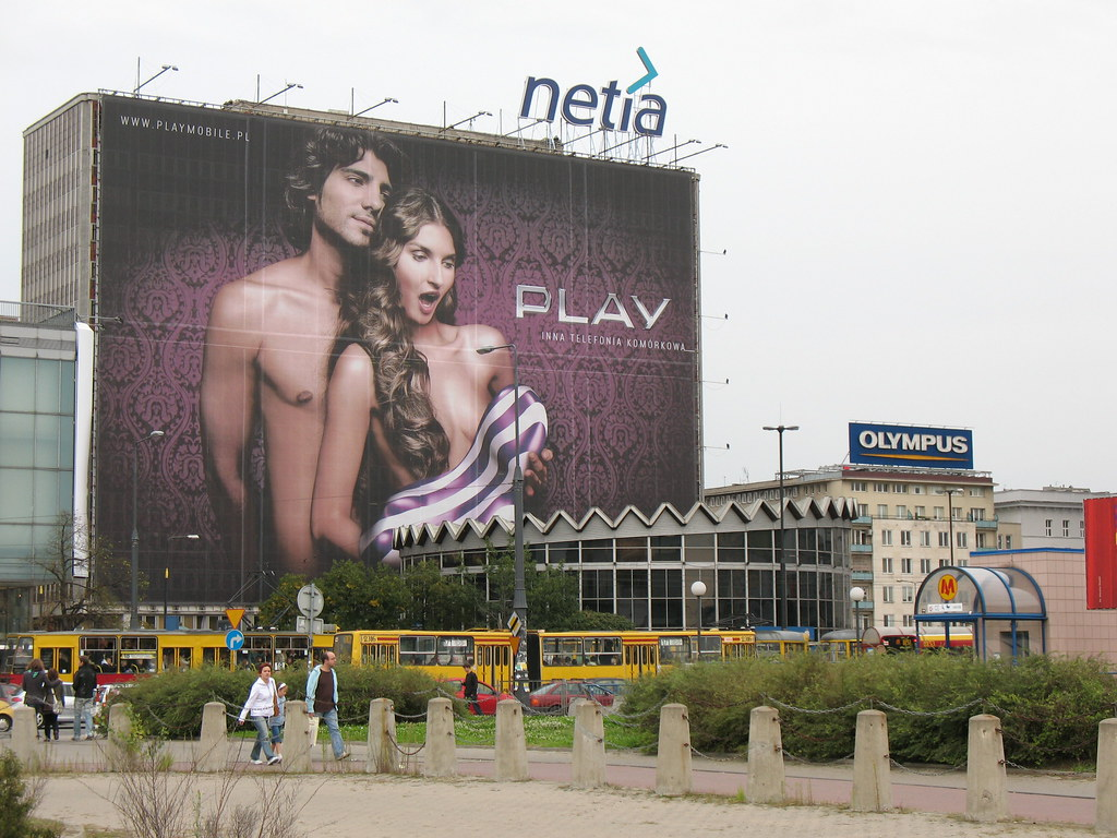 Advertising in Warszawa