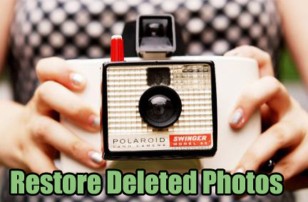 restore deleted photos