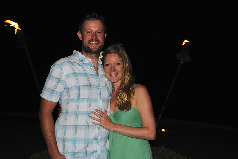 Engaged at The Beach House Restaurant - Poipu