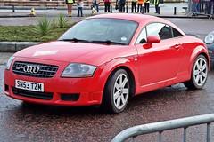 executive car(0.0), automobile(1.0), automotive exterior(1.0), audi(1.0), wheel(1.0), vehicle(1.0), automotive design(1.0), rim(1.0), audi tt(1.0), bumper(1.0), land vehicle(1.0), luxury vehicle(1.0), coupã©(1.0), sports car(1.0),