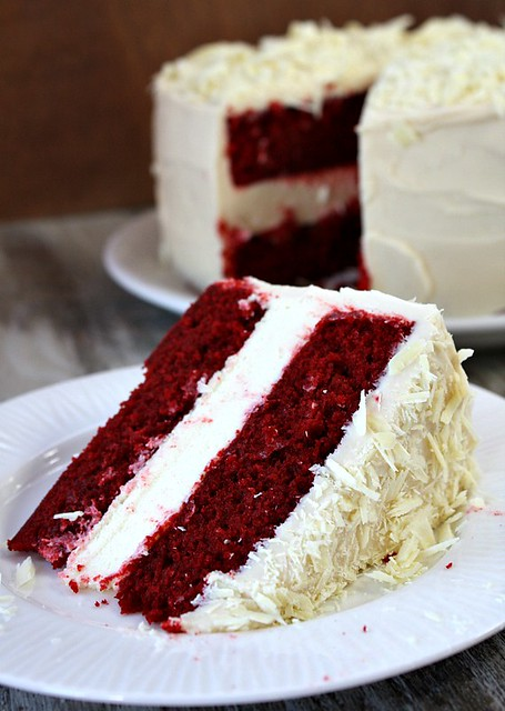 Red Velvet Cheesecake Layer Cake Southern Living