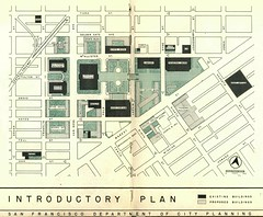 Introductory Plan for San Francisco Civic Center (1953)