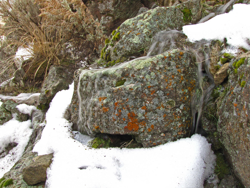 Rock, Snow, Water