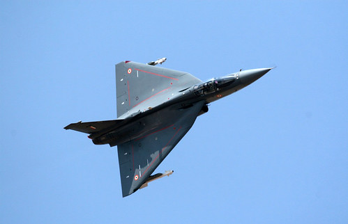 Top view HAL Tejas