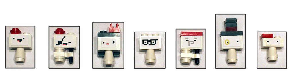 Lego Fez characters