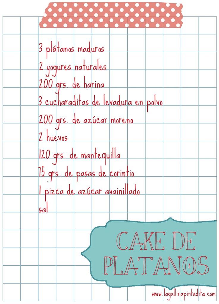 receta cake con washi