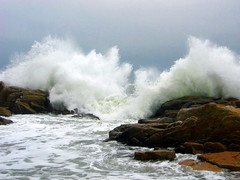Waves by Biddeford Pool, Maine