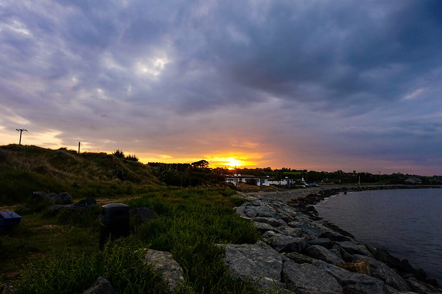 Sunset over Cahore, Wexford
