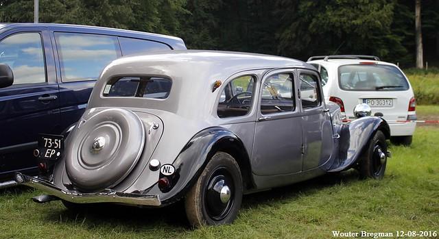 Citroën Traction Avant 11B Conduite Intérieure 1937