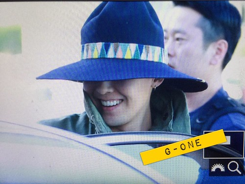 Big Bang - Gimpo Airport - 20may2015 - G-Dragon - G-One - 02