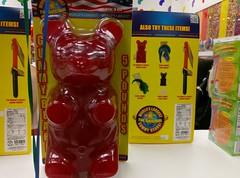 Monster 5 pound gummy bear!