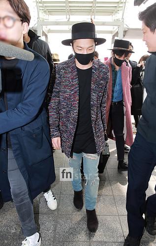 Big Bang - Incheon Airport - 21mar2015 - FN Star - 02