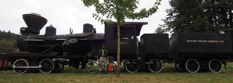Neil, Ivory Pass, and Mount Rainier Scenic Railroad Locomotive