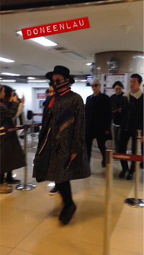 Big Bang - Gimpo Airport - 15jan2015 - G-Dragon - DoneenLau - 01