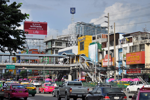 Phahon Yothin Road and the Union Mall, Bangkok