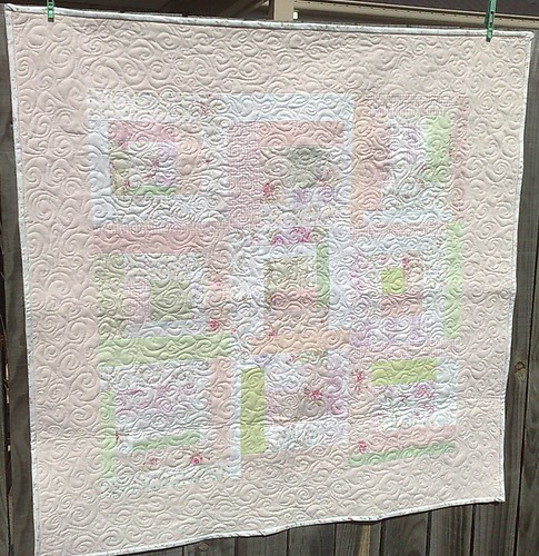 Pink & Pretty Quilt by Blue Wren Stitching