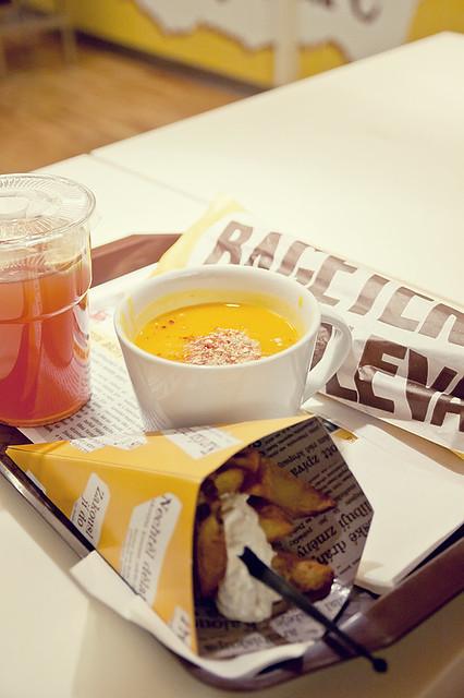 Dýňová polévka V Bageterii!