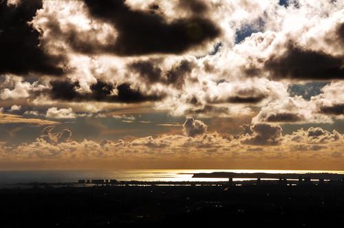 sunset sky storm mthelix
