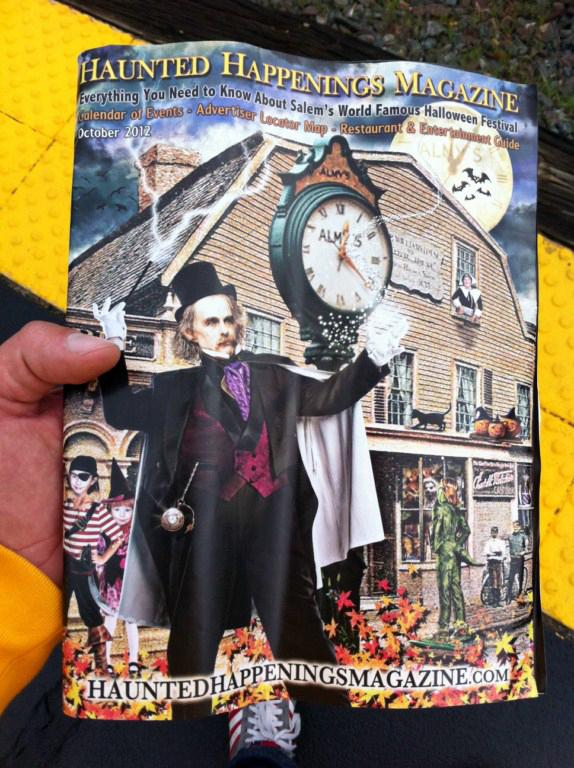 """La revista """"haunted happenings magazine"""" de octubre 2012 en mis manos. Salem, la ciudad de las brujas - 8079361821 199648efe5 o - Salem, la ciudad de las brujas"""