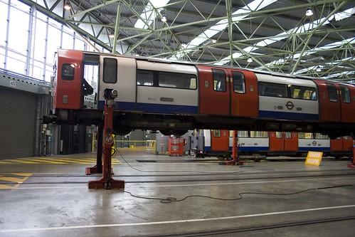 Train on Jacks