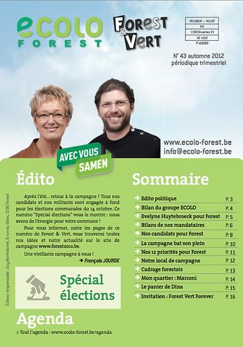 Forest & Vert 43, «spécial élections»
