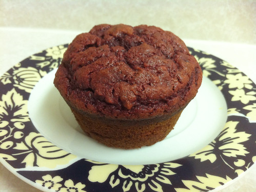 Beet Chocolate Cupcake
