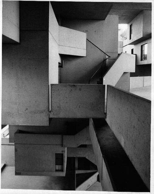Habitat67 construction 1964-1967