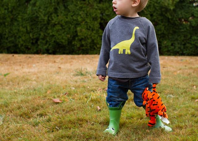 neon dinosweater