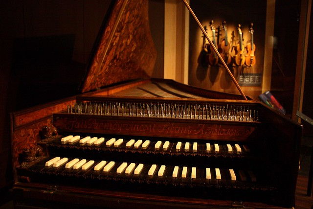 Harpsichord Music Instruments Museum Brussels By Red