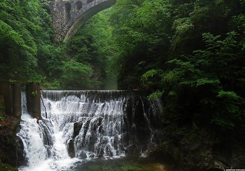 20120609_13 Waterfall in Vintgar Gorge, Slovenia