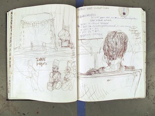 Sketchbook, Fall 2012