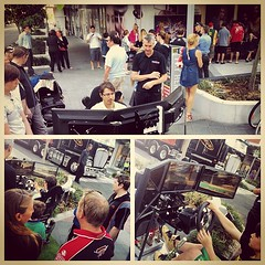 The V8 Supercar crew checks in with Racecentre & fans using the Logitech G27 Racing Wheel   #v8sc #v8_supercars #motorsport #cars #picoftheday #photooftheday #instagramhub #logitech #thinkgc #thisisqueensland #goldcoast #ilovegc #ilovegoldcoast