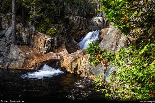 me river landscape waterfall maine falls rangeley dmcg10 townshipe