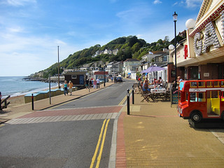 Nice day for a stroll down along the seafront..