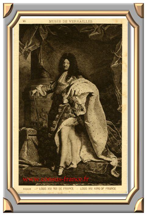 LOUIS XIV - ROI DE FRANCE -70-150