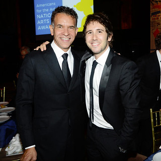 Brian Stokes Mitchell (L) and Josh Groban, courtesy Americans for the Arts