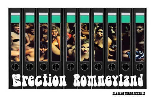 ERECTION ROMNEYLAND by Colonel Flick
