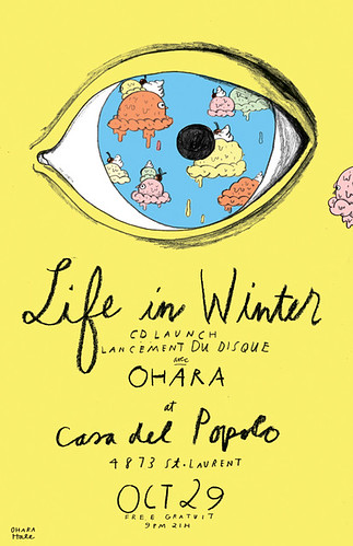 LIFE IN WINTER POSTER by Ohara.Hale