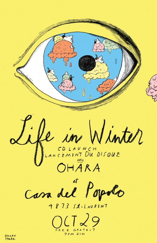 LIFE IN WINTER POSTER
