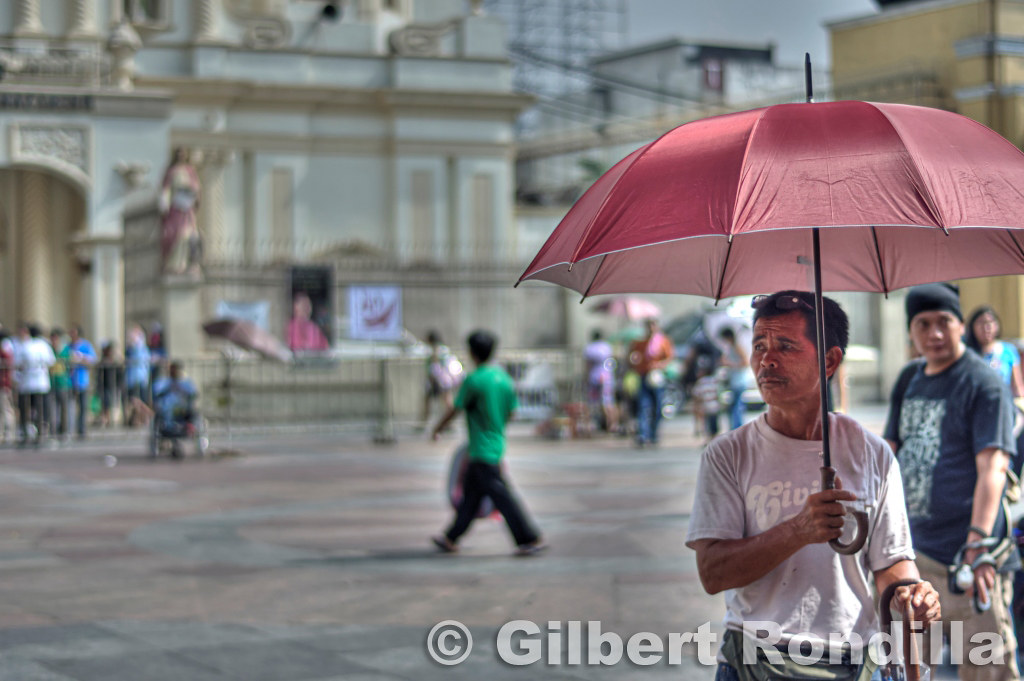 The Umbrella Vendor