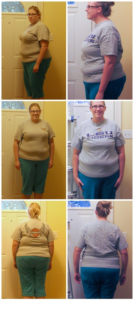 50 lbs. lost collage