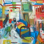 oil on canvas 120x160cm