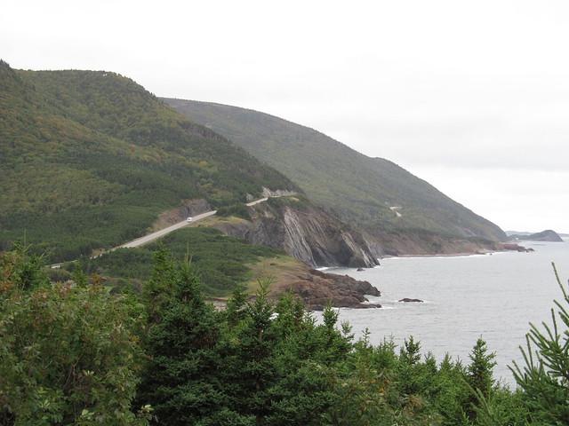 Cape Breton Highlands by CC user dougtone on Flickr