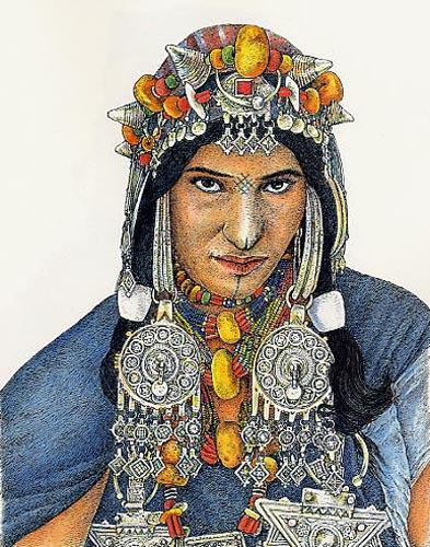 femme d'Ahl Ifrane