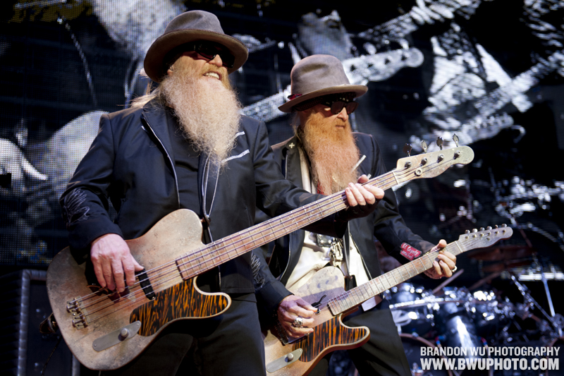 ZZ Top @ Virgin Mobile FreeFest 2012