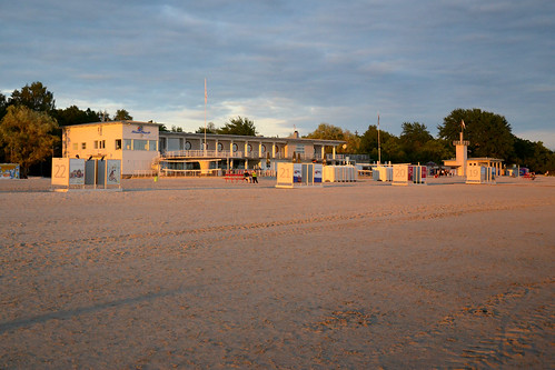 travel sunset beach europe estonia pärnu