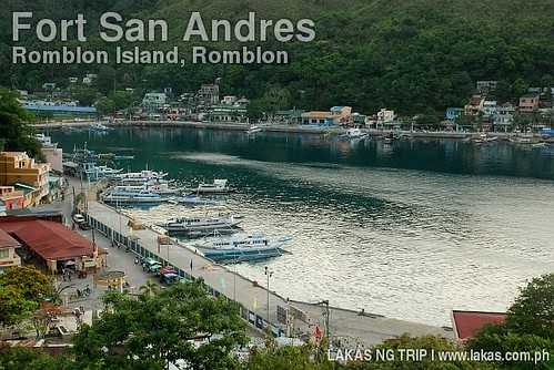 View of the Port of Romblon Island from Fort San Andres